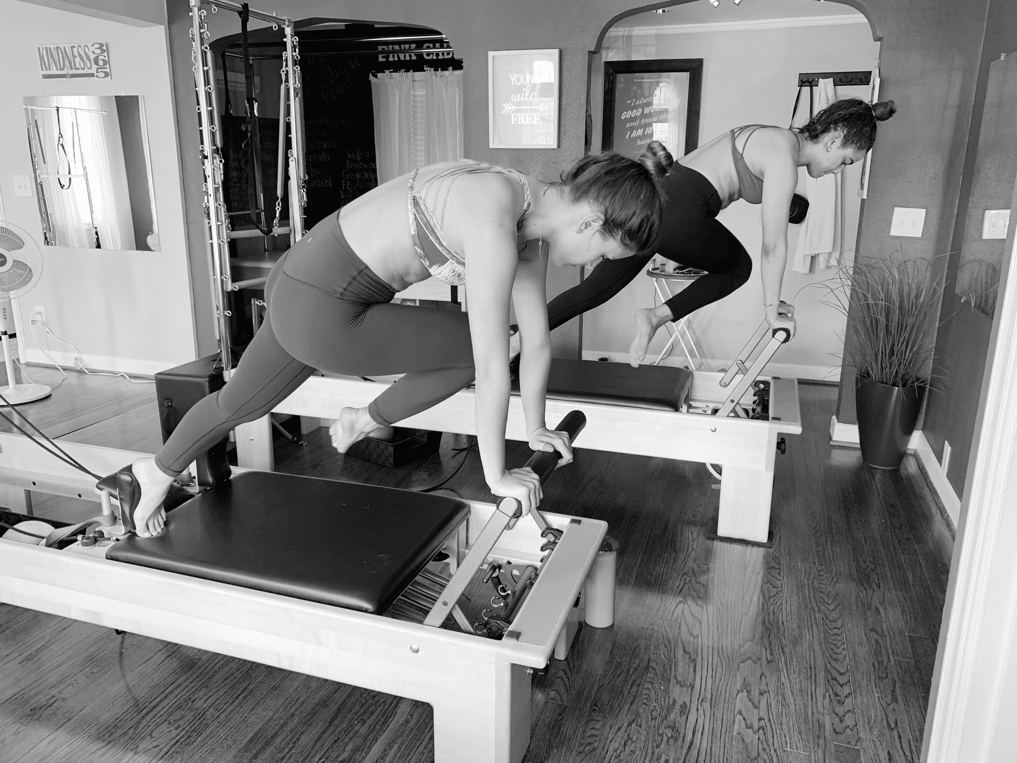 Small Group Pilates Reformer Class
